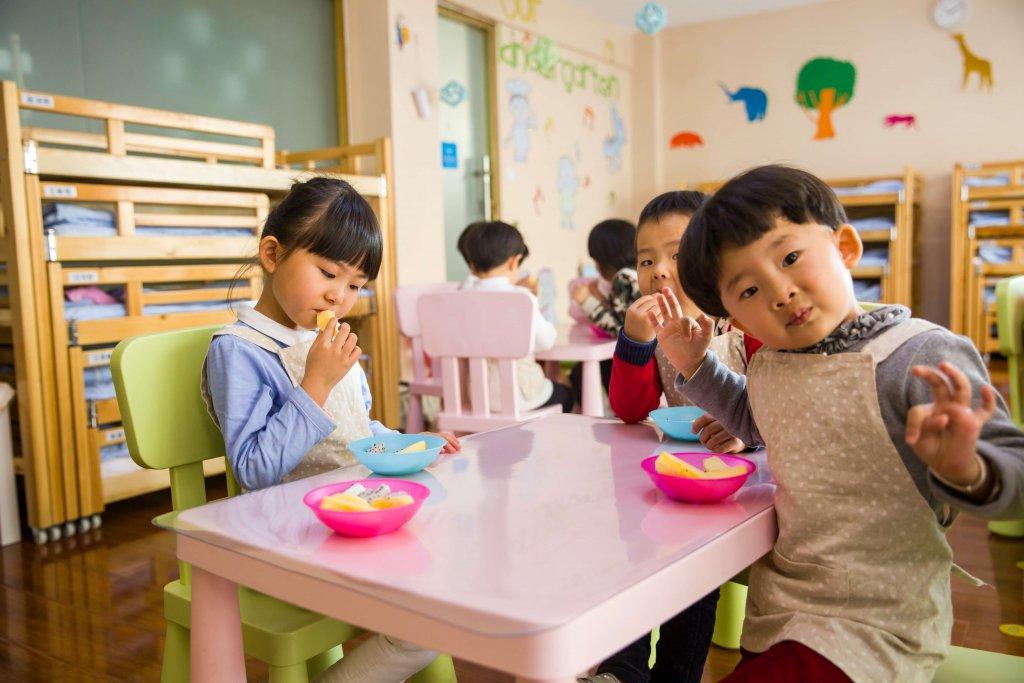 蒙特梭利教學法的幼兒園