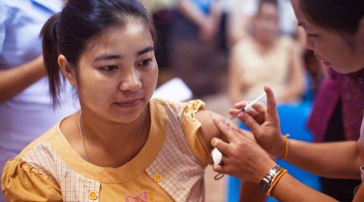 孕婦注射百日咳疫苗